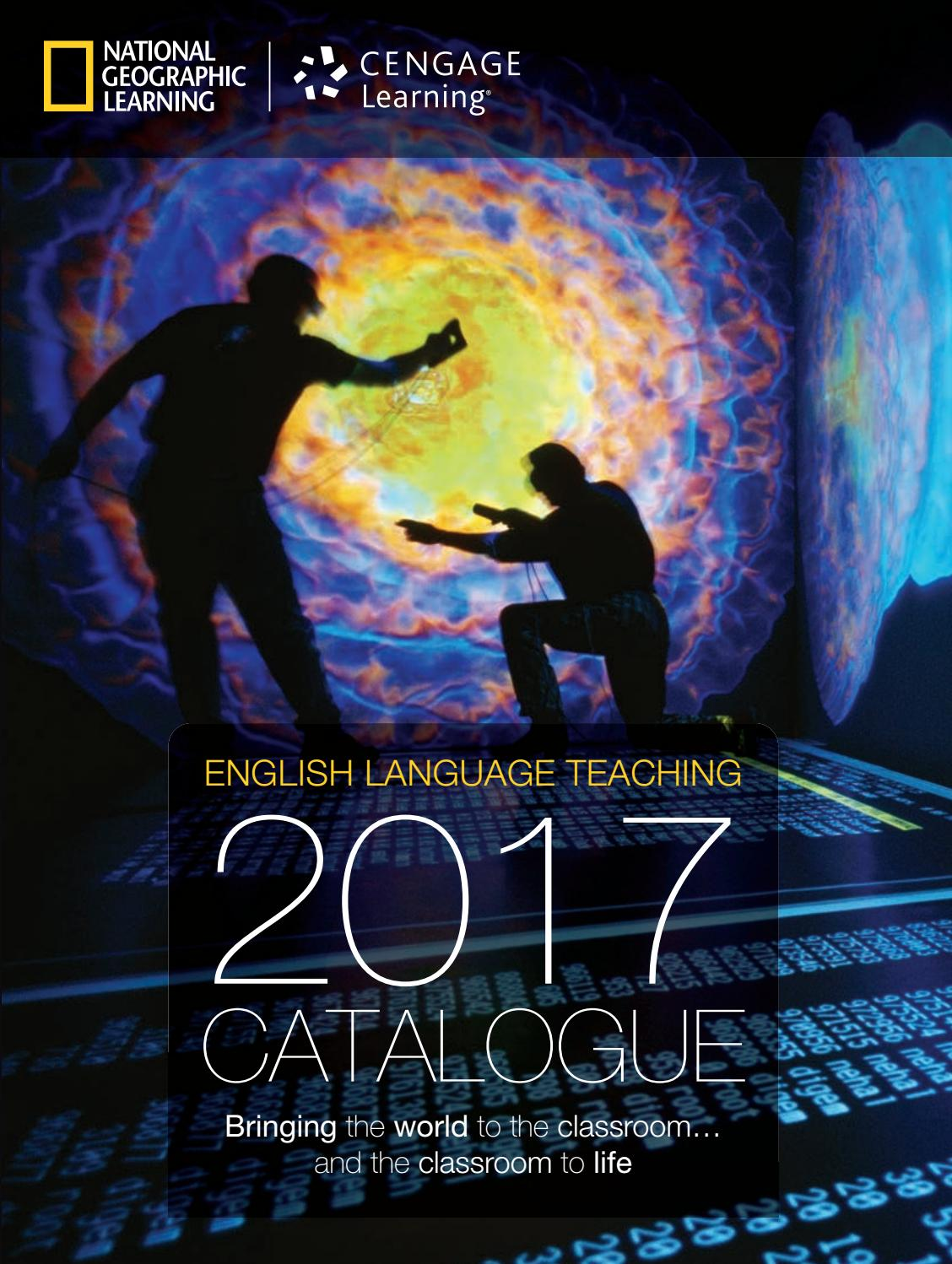 2017 catalogue - National Geographic Learning by Cengage ...