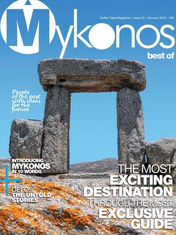 Best of Mykonos 2016 by Yellowpin - issuu b714fd1e1eb