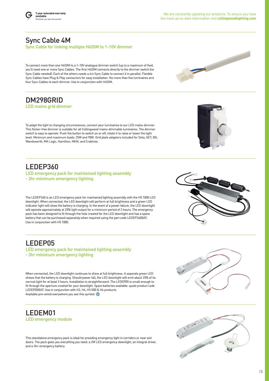 Collingswood Lighting Led Downlights Guide by KES Lighting - issuu