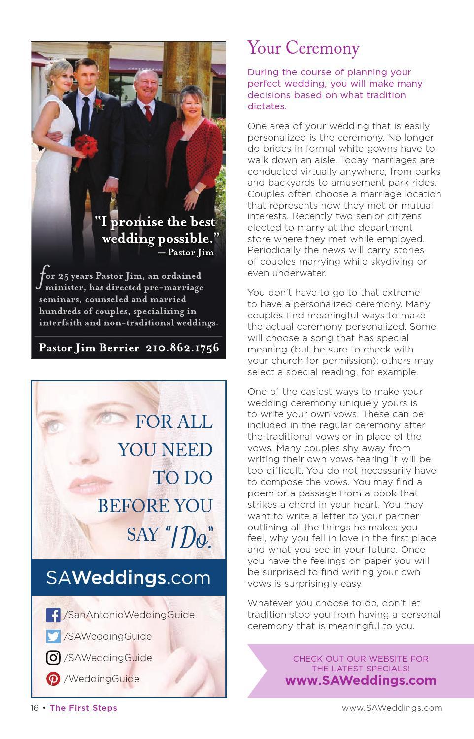 San Antonio's Wedding Guide #55 by Texas Wedding Guide - issuu