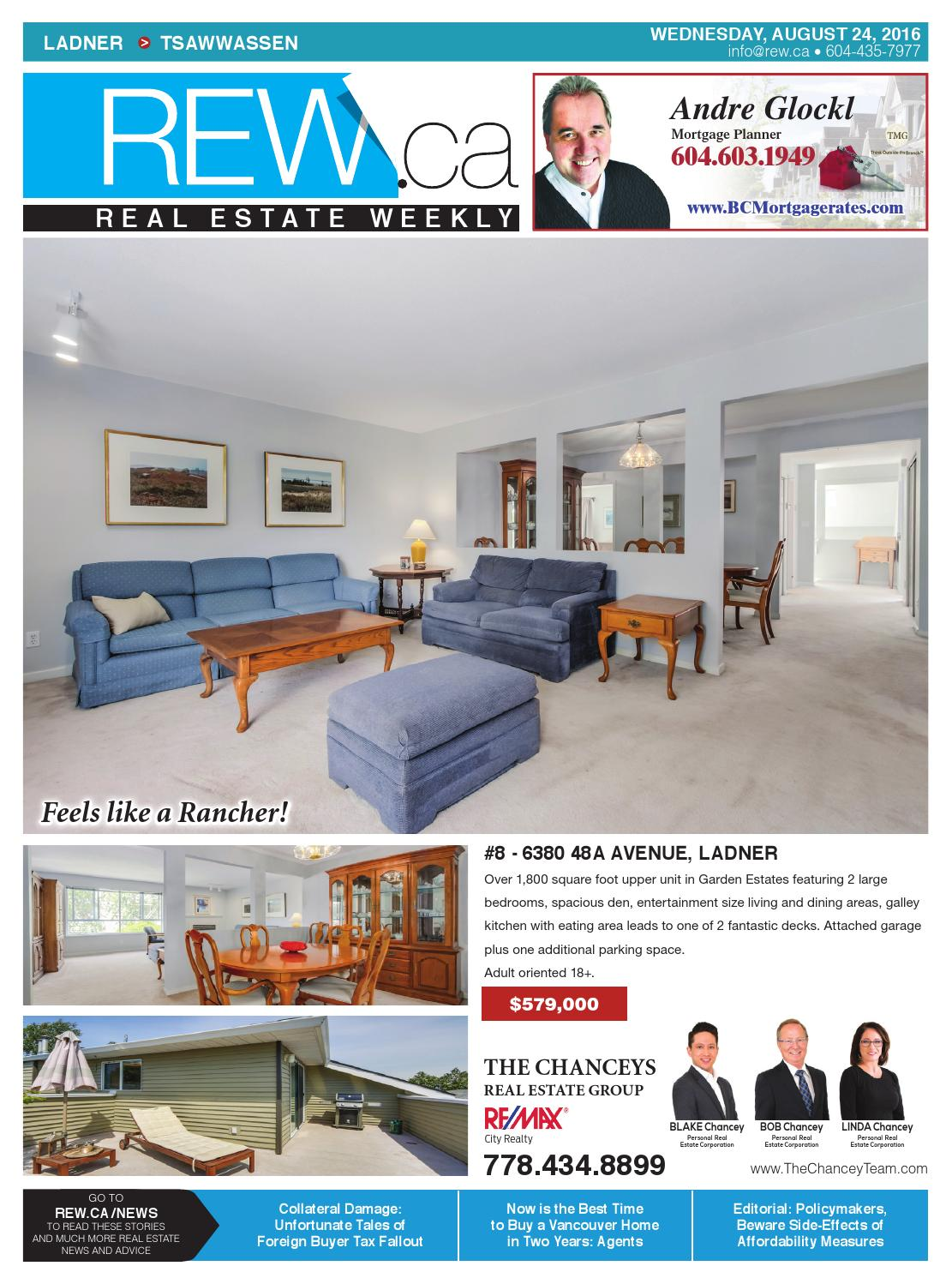 realtor and interior designer debbie evans realtor interior design consultant remax west LADNER - TSAWWASSEN Aug 24, 2016 Real Estate Weekly by Real Estate Weekly -  issuu