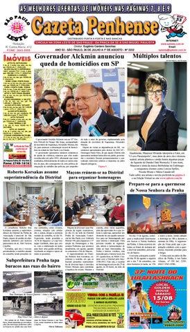 1cf561021a Gazeta Penhense - edição 2232 - 26.07 a 1.10.15 by Marcelo Cantero ...
