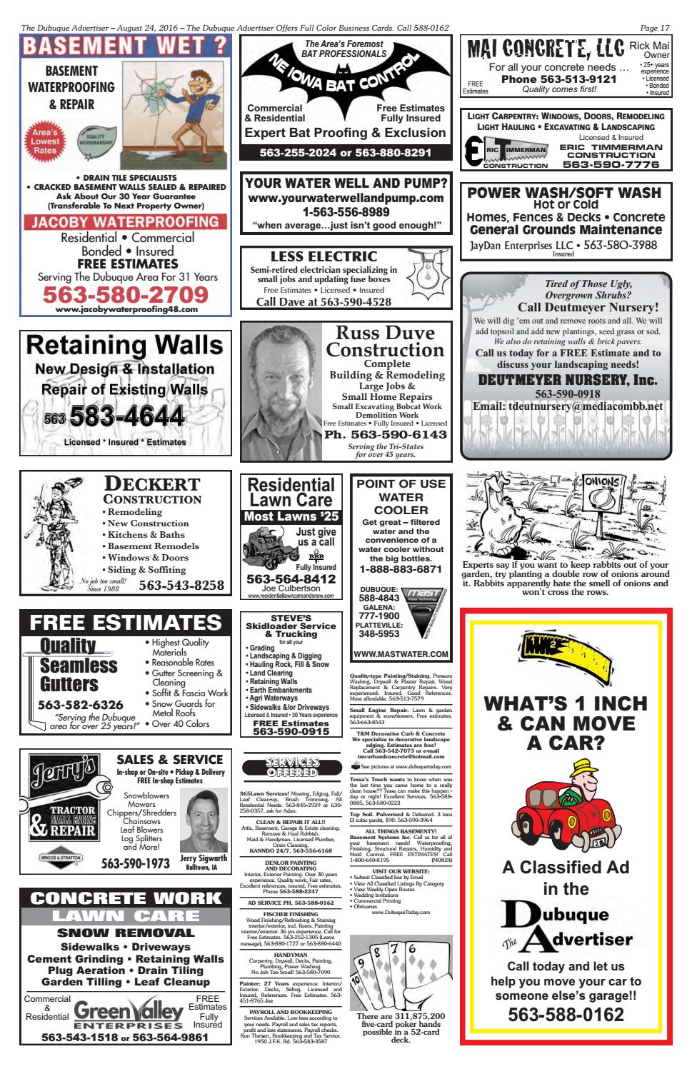 The Dubuque Advertiser August 24