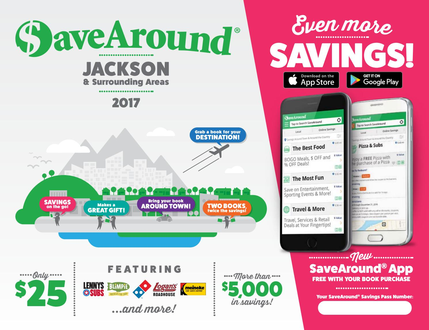 Jackson TN By SaveAround Issuu - Free catering invoice template gucci outlet store online