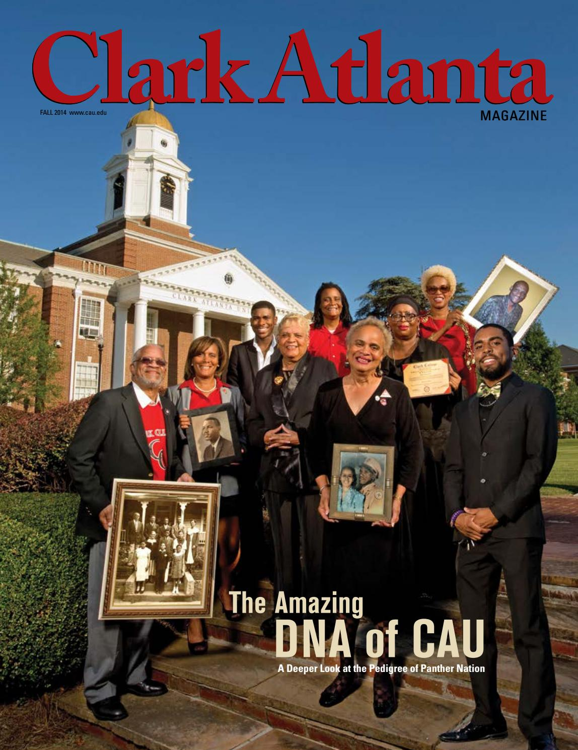Clark Atlanta University Majors >> Clark Atlanta University Magazine Fall 2014 By Clark Atlanta