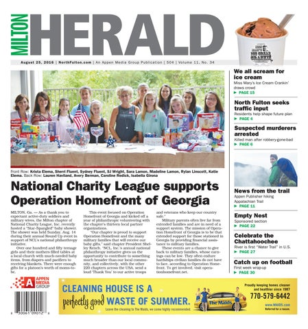 Milton Herald - August 25, 2016 by Appen Media Group - issuu