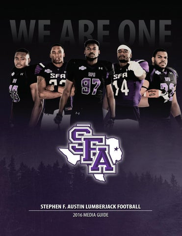 huge selection of 90430 726fa 2016 Stephen F. Austin Football Media Guide by SFA Athletics ...
