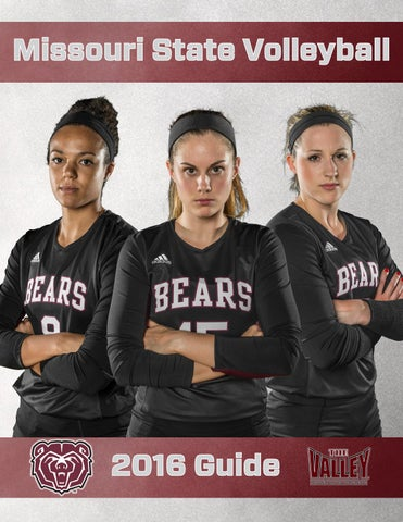 2016 Missouri State Volleyball Guide by Missouri State Bears - issuu ae4909617