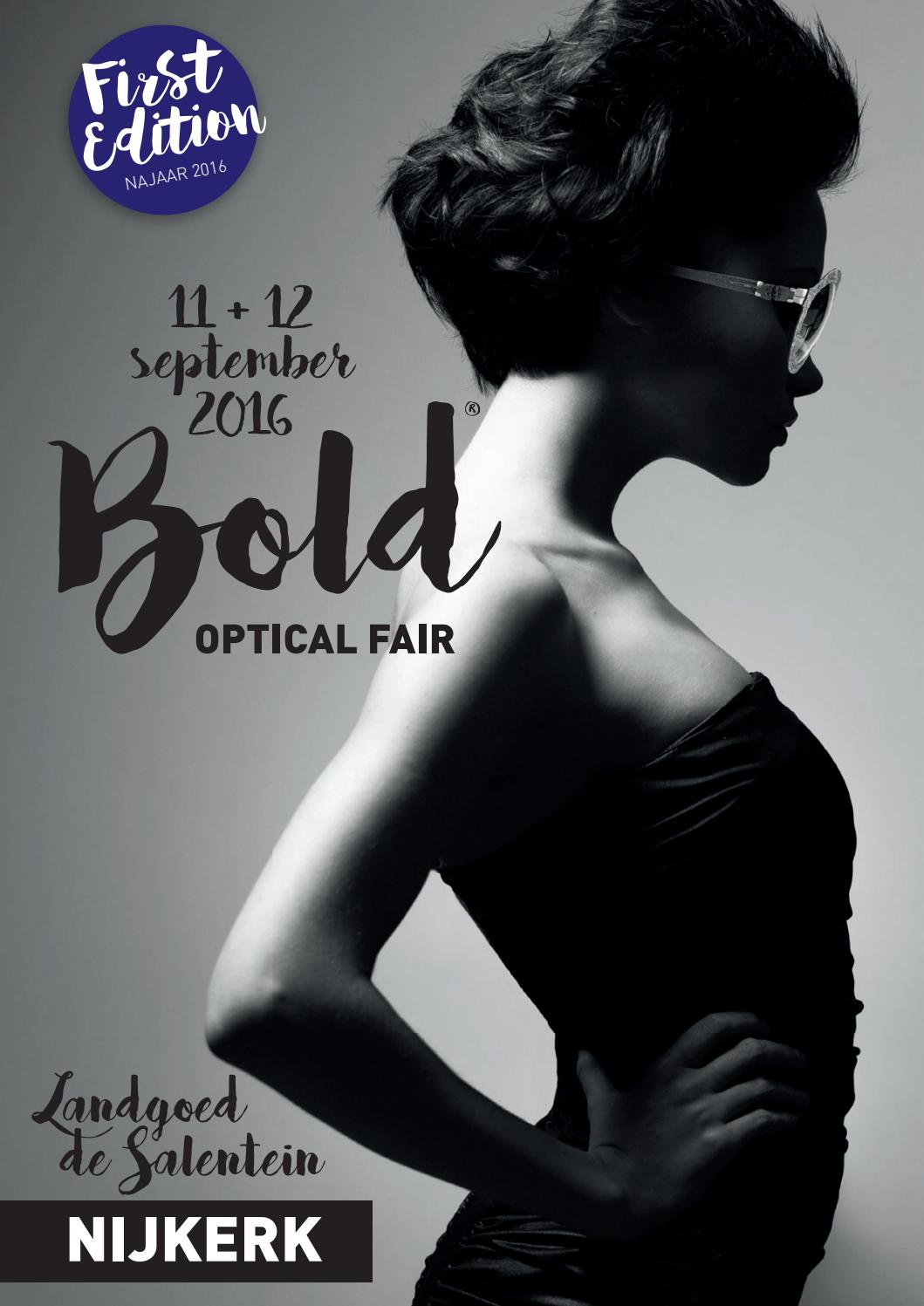 Bold magazine najaar 2016 by Bold Optical Fair - issuu
