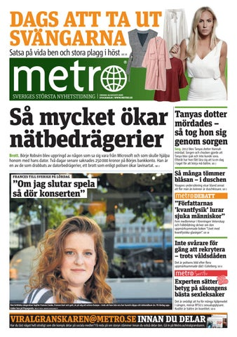 20160824 se stockholm by Metro Sweden - issuu a929ee3e213e2