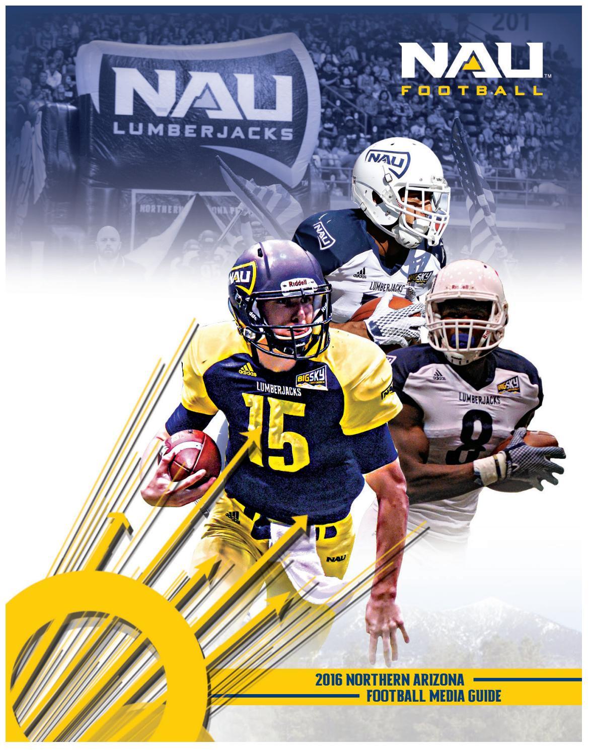 2016 nau football guide by nau athletics issuu
