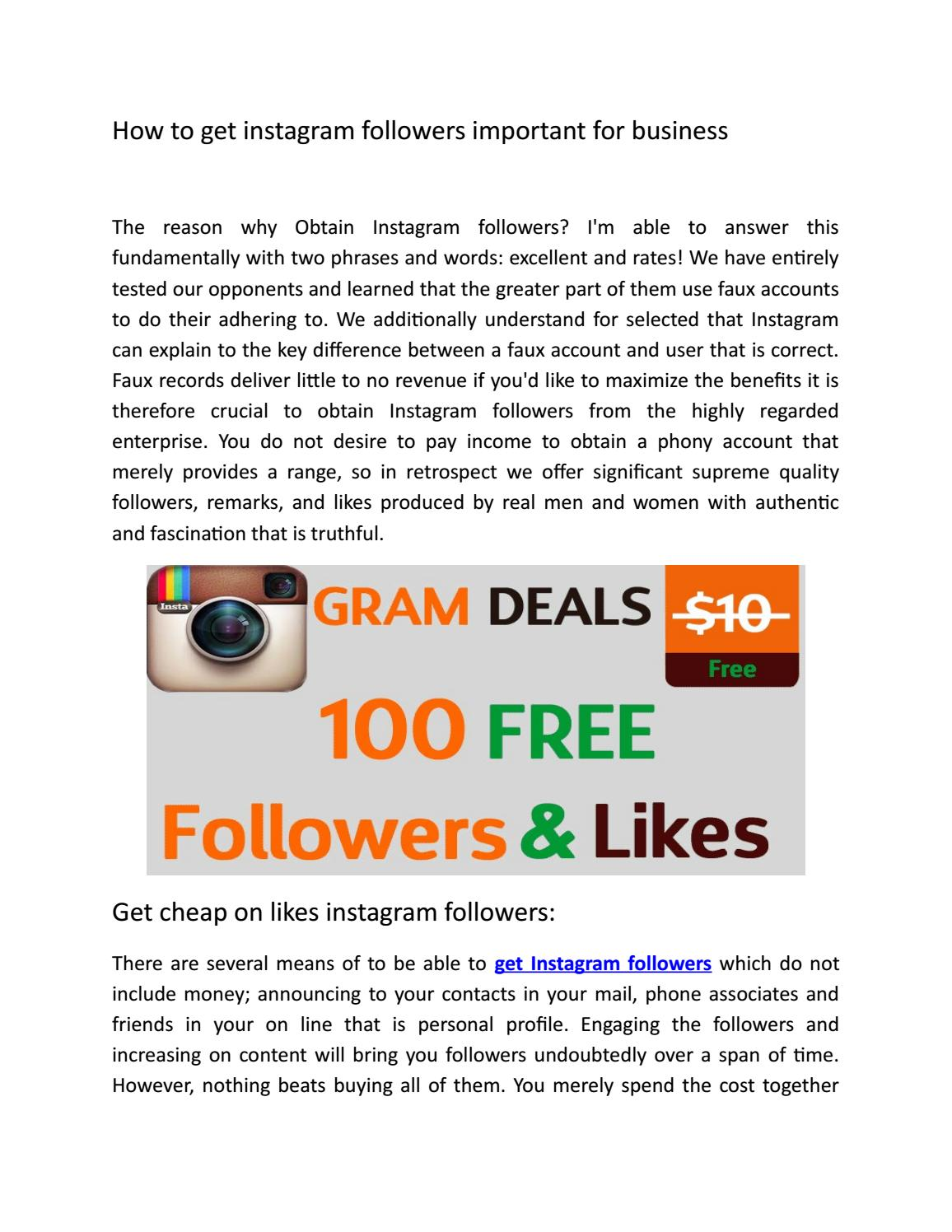 how get followers on instagram and marketing for business by