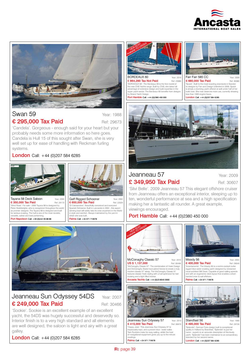 16 Autumn Ancasta Collection By Ancasta International Boat Sales Issuu
