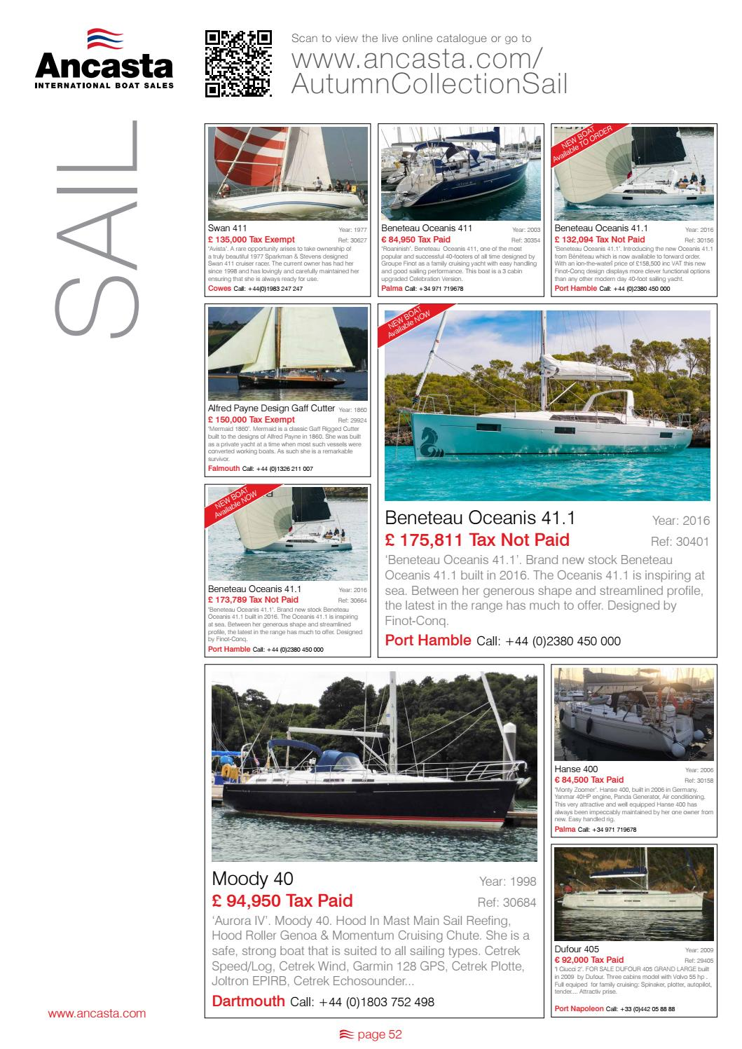 16 Autumn Ancasta Collection by Ancasta International Boat