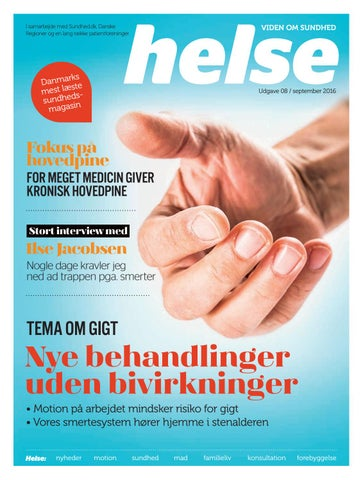 d68b3313c4d Helse-2016-08 by Mediegruppen as - issuu