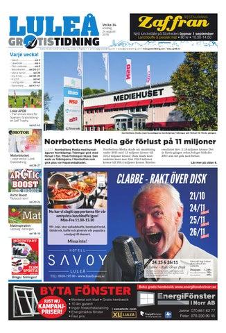 promo code 4e283 37f24 Luleå Gratistidning med Team Sportia bilaga by Svenska ...