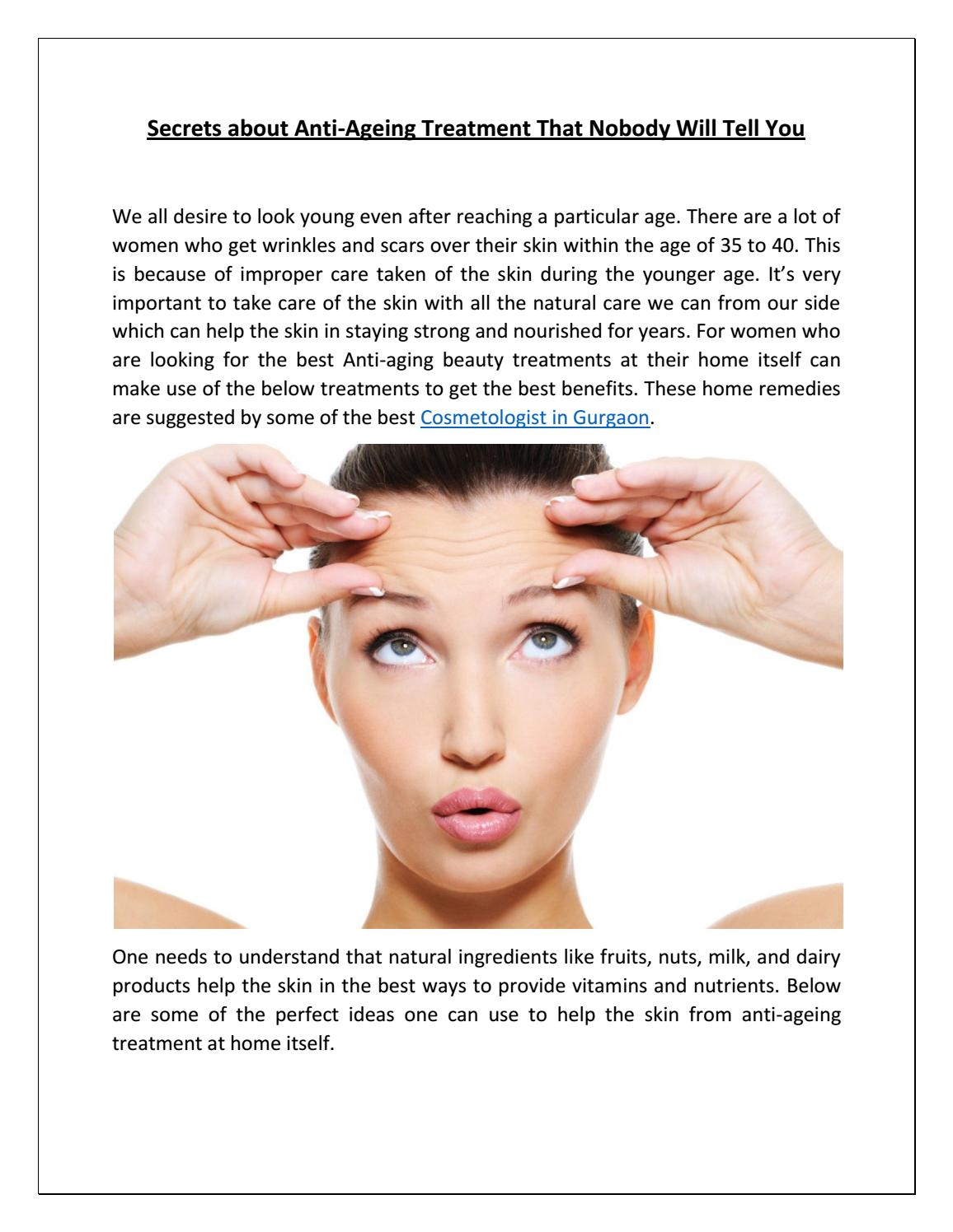 Anti Ageing Treatment Secret By Eugenix Issuu