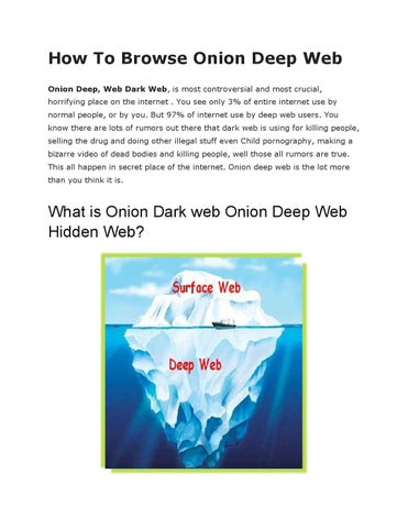 How to browse onion deep web by Gadget Gyani - issuu