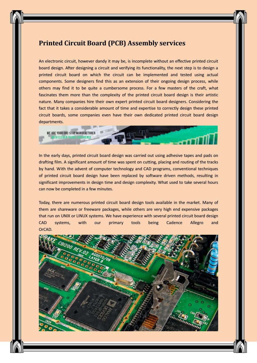 Printed Circuit Board Design Services By Smith Issuu