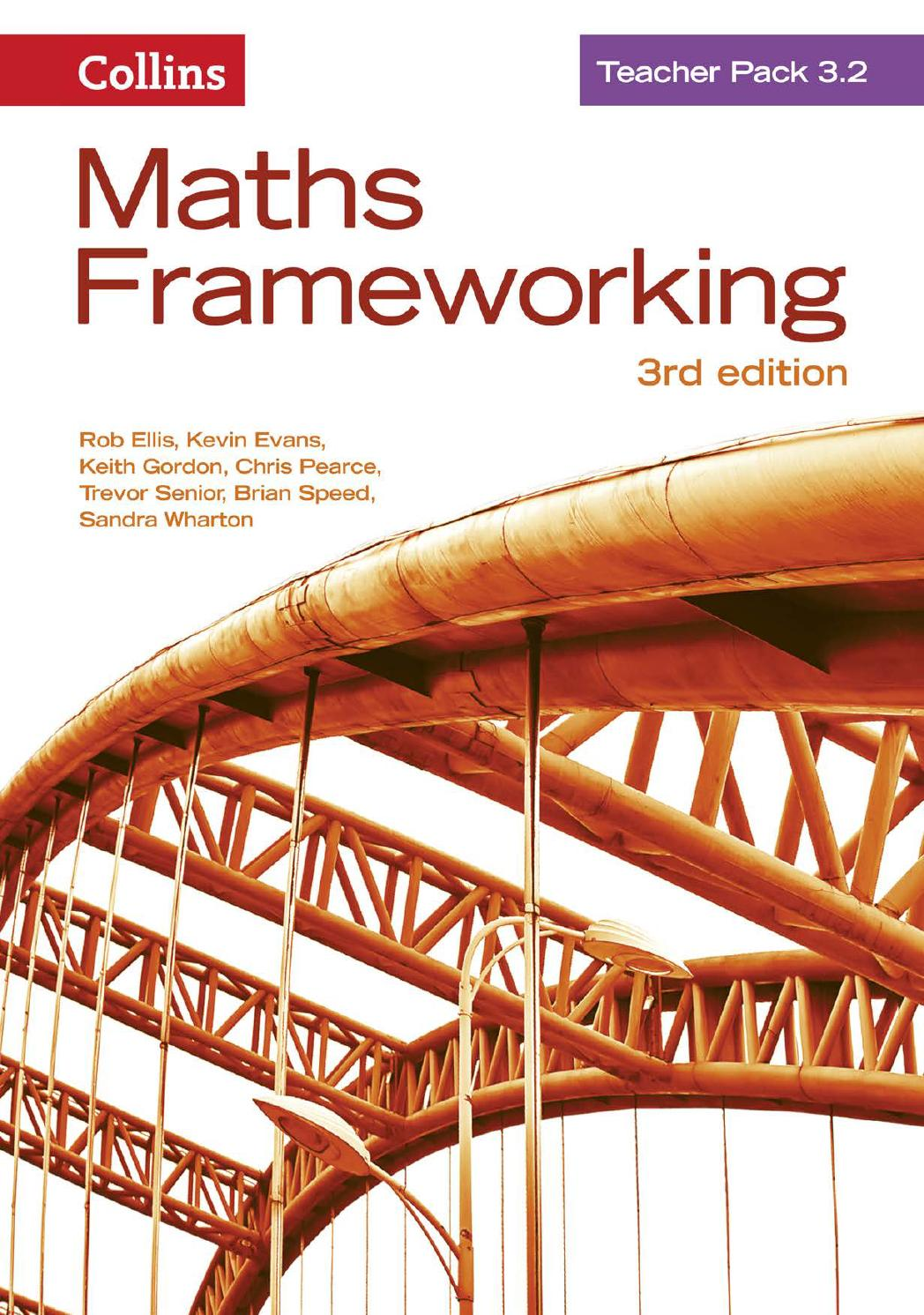 Maths Frameworking Teacher Pack 32 by Collins Issuu