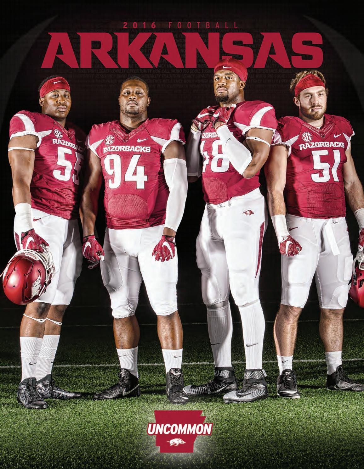 2016 Arkansas Razorback Football Media Guide by University of ...