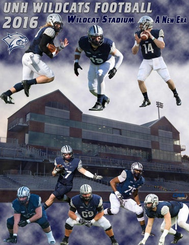 2016 Unh Football Media Guide By University Of New Hampshire