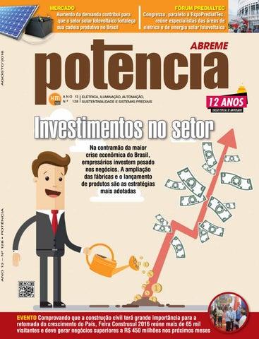 67217fe9fc9 Edição 128 da Revista Potência - Agosto de 2016 by Revista Potência ...