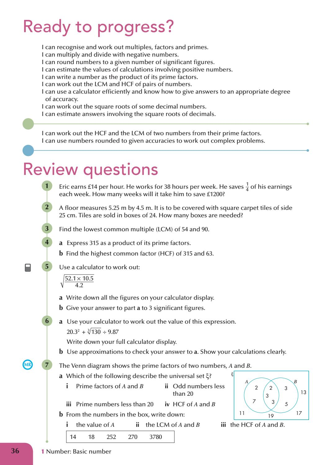AQA GCSE Maths Higher Student Book by Collins - issuu