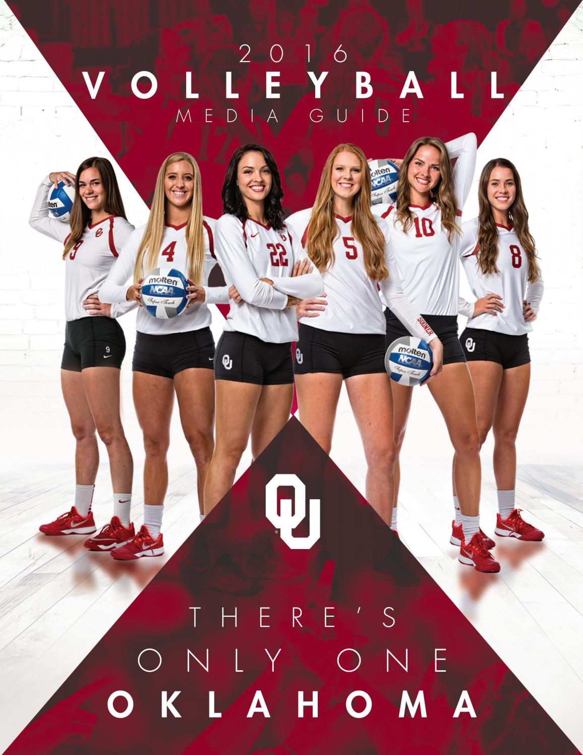 2016 Oklahoma Volleyball Media Guide By Ou Athletics Issuu