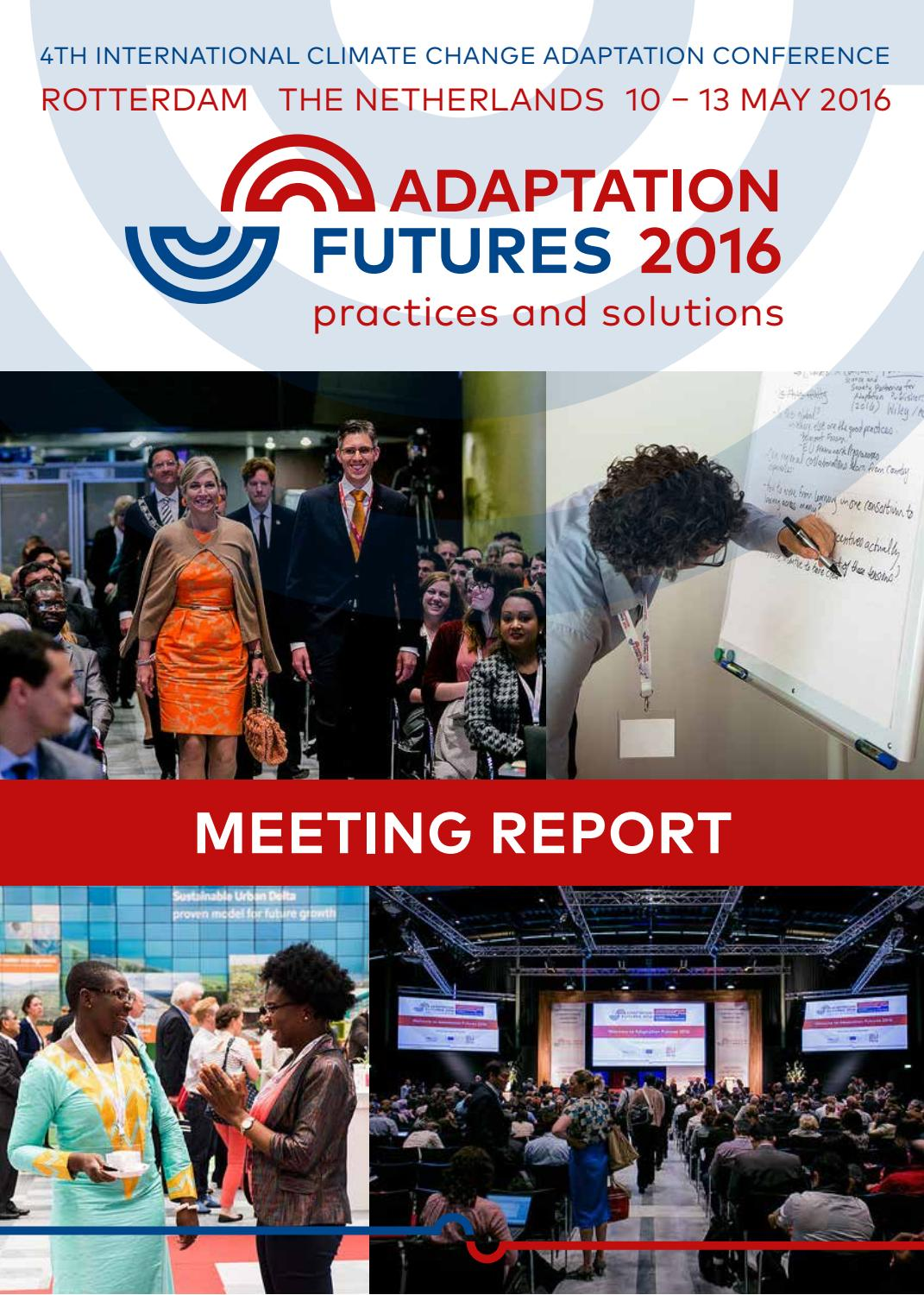 Adaptation futures 2016 practices and solutions by