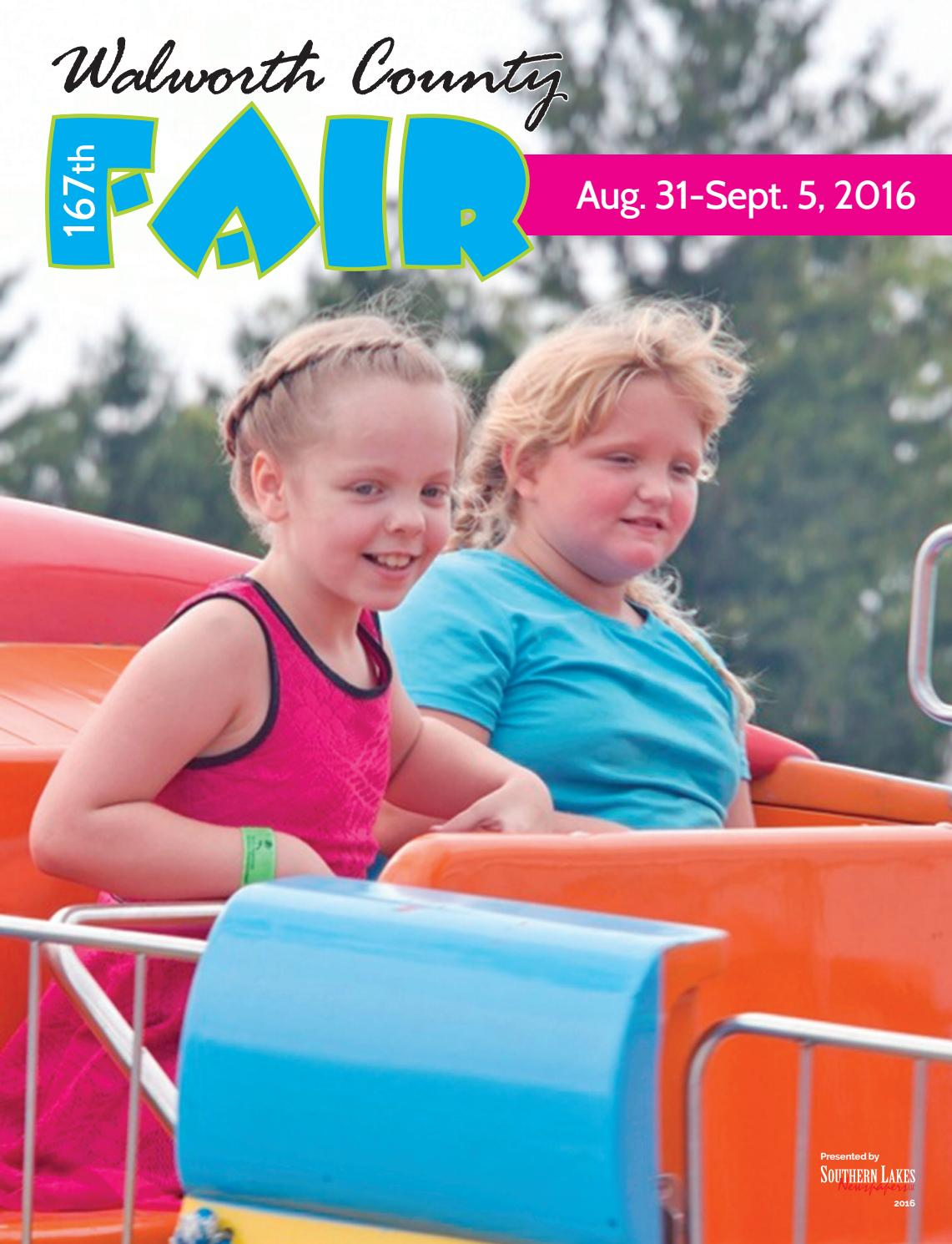 Walworth County Fair 2020.Walworth Co Fair By Southern Lakes Newspapers Issuu