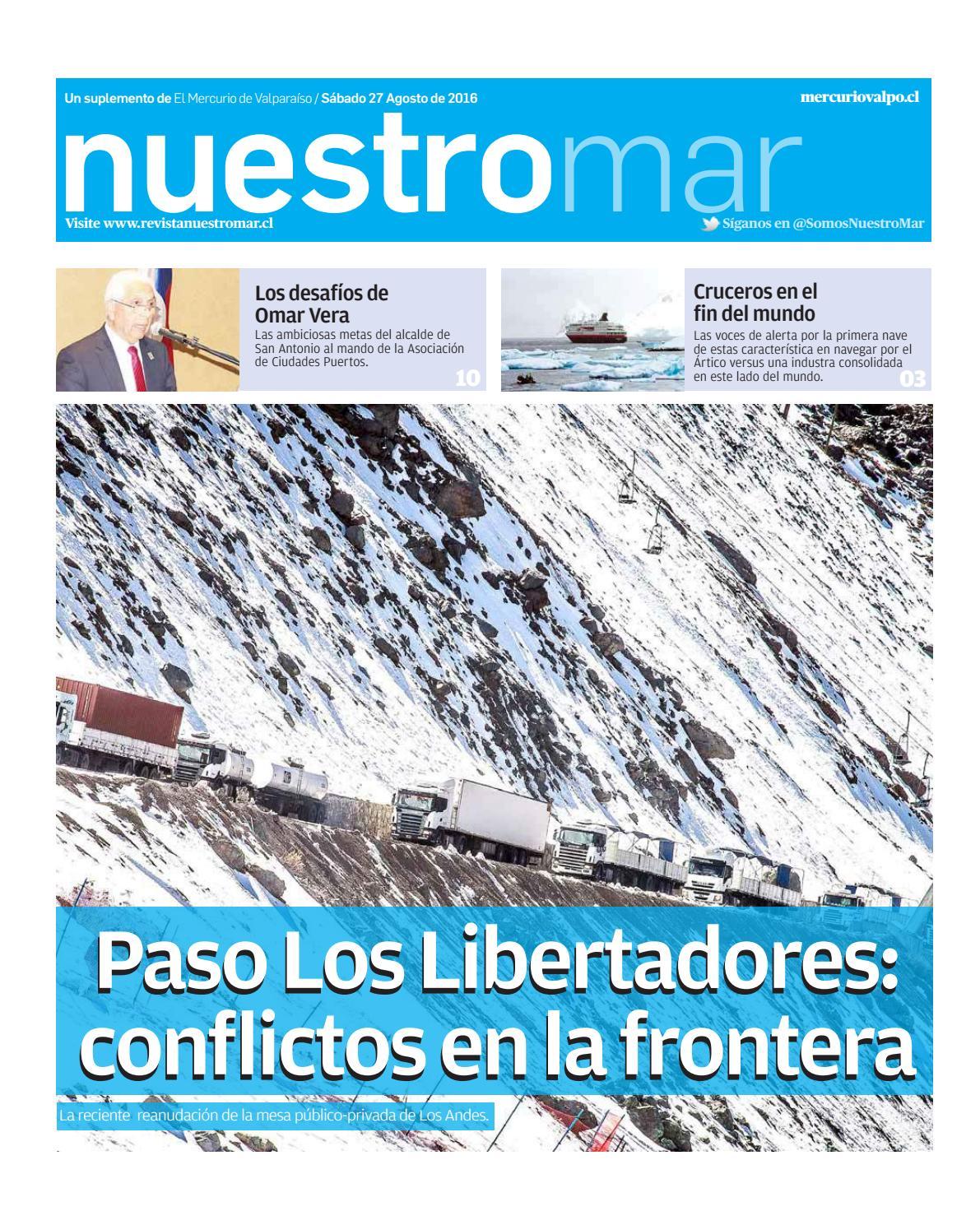Revista Nuestro Mar Agosto 2016 by El Mercurio de Valparaíso ...