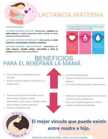 Lactancia materna by beneficencia espa ola puebla issuu - Alimentos para producir leche materna ...