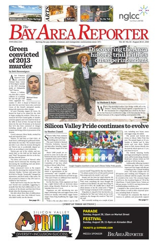 August 25 2016 Edition Of The Bay Area Reporter By Bay Area