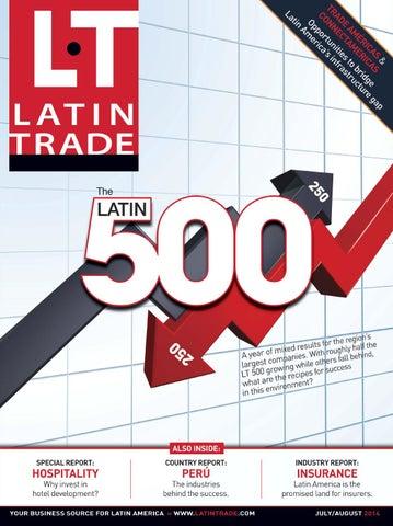 58adaf9343 Latin Trade 22.4 Jul Aug 2014 - English edition by Latin Trade Group ...