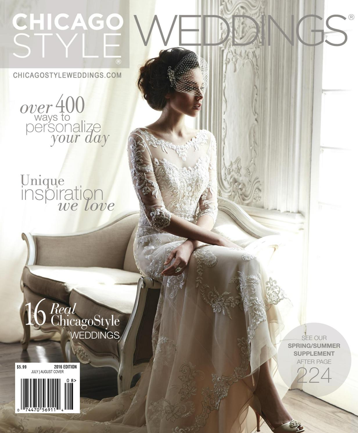 debc39e5c49 ChicagoStyle Weddings 2016 with Spring Supplement by ChicagoStyle Weddings  - issuu