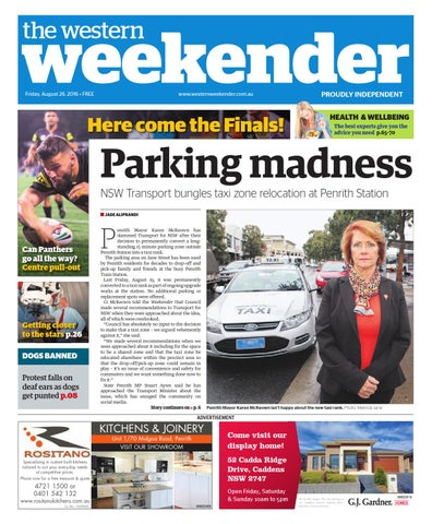 Western weekender august 26 by western sydney publishing group issuu page 1 fandeluxe Images