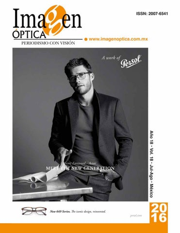 5cd78aca2c Revista Julio Agosto 2016 by Imagen Optica - issuu