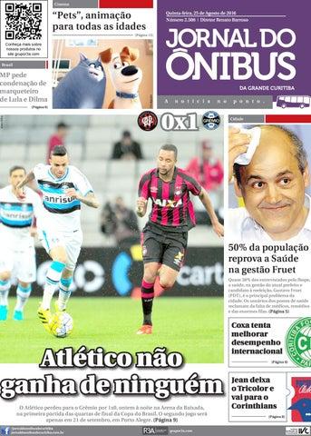 Jornal do Onibus de Curitiba - Edição do dia 25-08-2016 by Editora ... 89ab13784060f