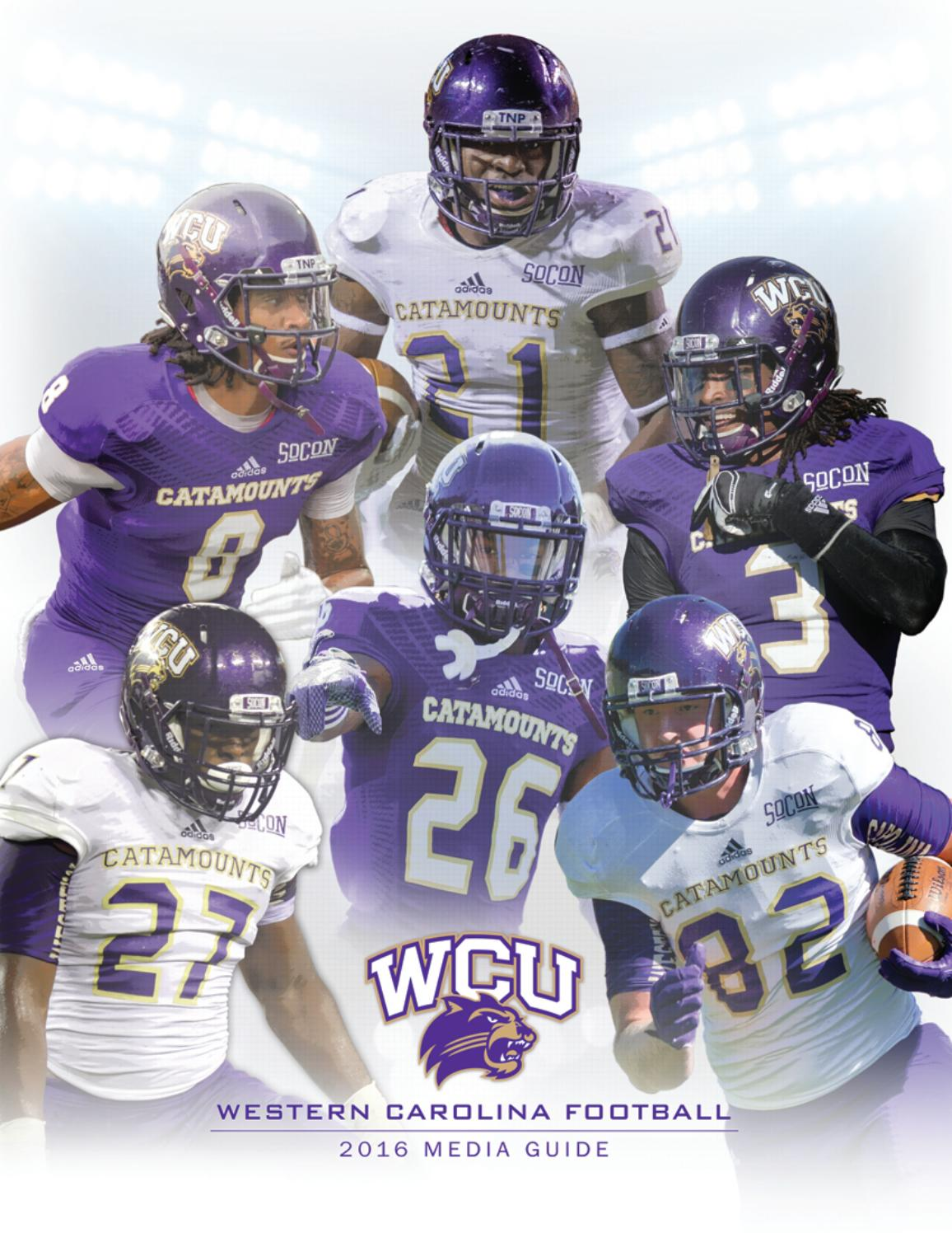 1f98c8821 2016 Western Carolina Football Media Guide by Western Carolina University  Athletics - issuu