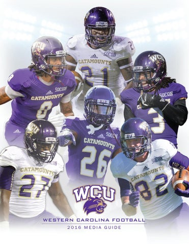 2cb053a19 2016 Western Carolina Football Media Guide by Western Carolina ...