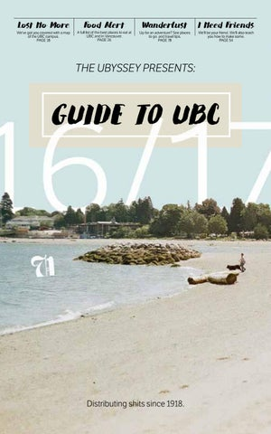 Guide To Ubc 2016 2017 By The Ubyssey Issuu