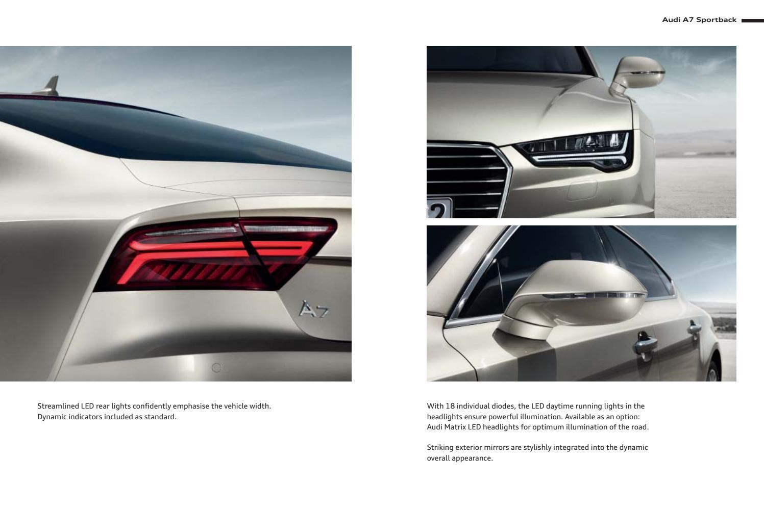 Audi A7 Ja Audi S7 Esite 42016 By Avidly Agency Issuu