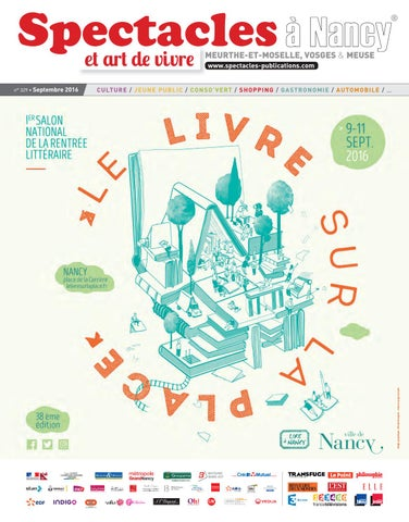 2016 Septembre Publications N°329 Spectacles Nancy By UITqg17xp