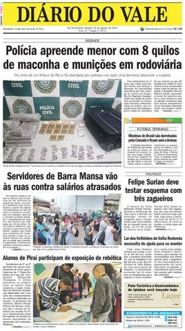 efdf6e98bec 8118 diario do vale sabado 20 08 2016 by Diário do Vale - issuu