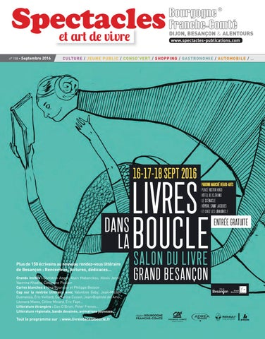 b712fc940 Spectacles Publications Dijon n°158   Septembre 2016 by SPECTACLES ...