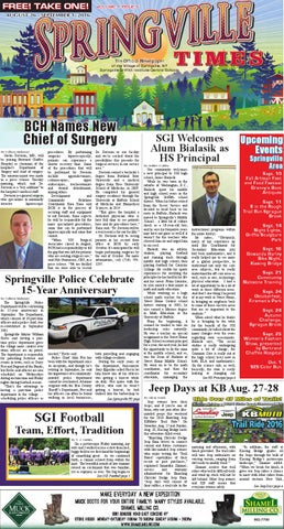 8 26 16 Springville Times By Ellicottville Times Issuu