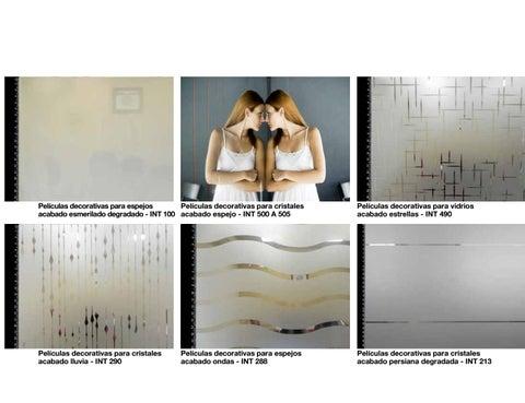 Catalogo De Vinilos Decorativos Para Cristal By Simón Macías