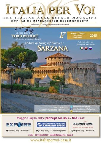 Italia Per Voi Nr 17 Bimestre Maggio Giugno 2015 Sarzana