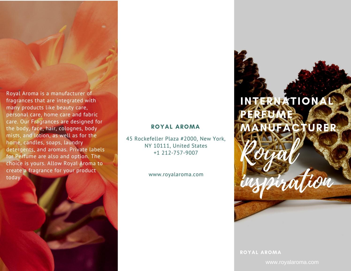 Perfume manufacturer in usa by www royalaroma com - issuu